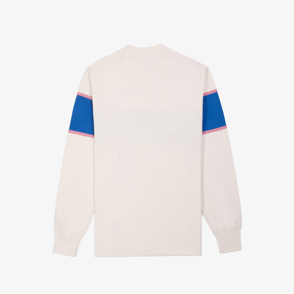 COLOR BLOCKED CREWNECK-ROYAL - Crewneck Aimé Leon Dore