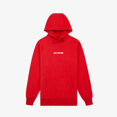ALD LOGO HOODIE-RED