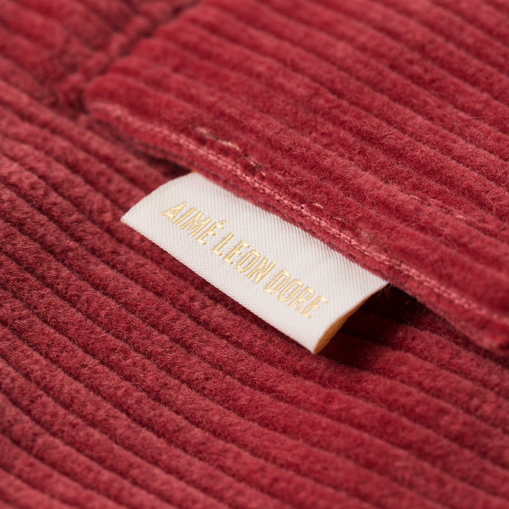 CORDUROY CLIMBER SHORT-LIGHT RED