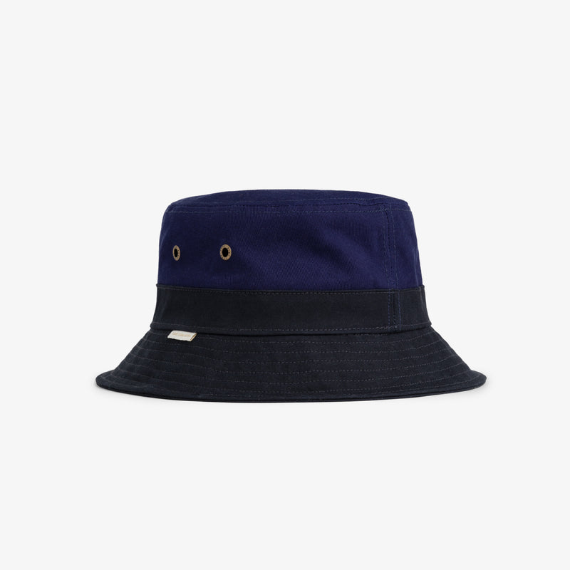 Waxed-brim Bucket Hat