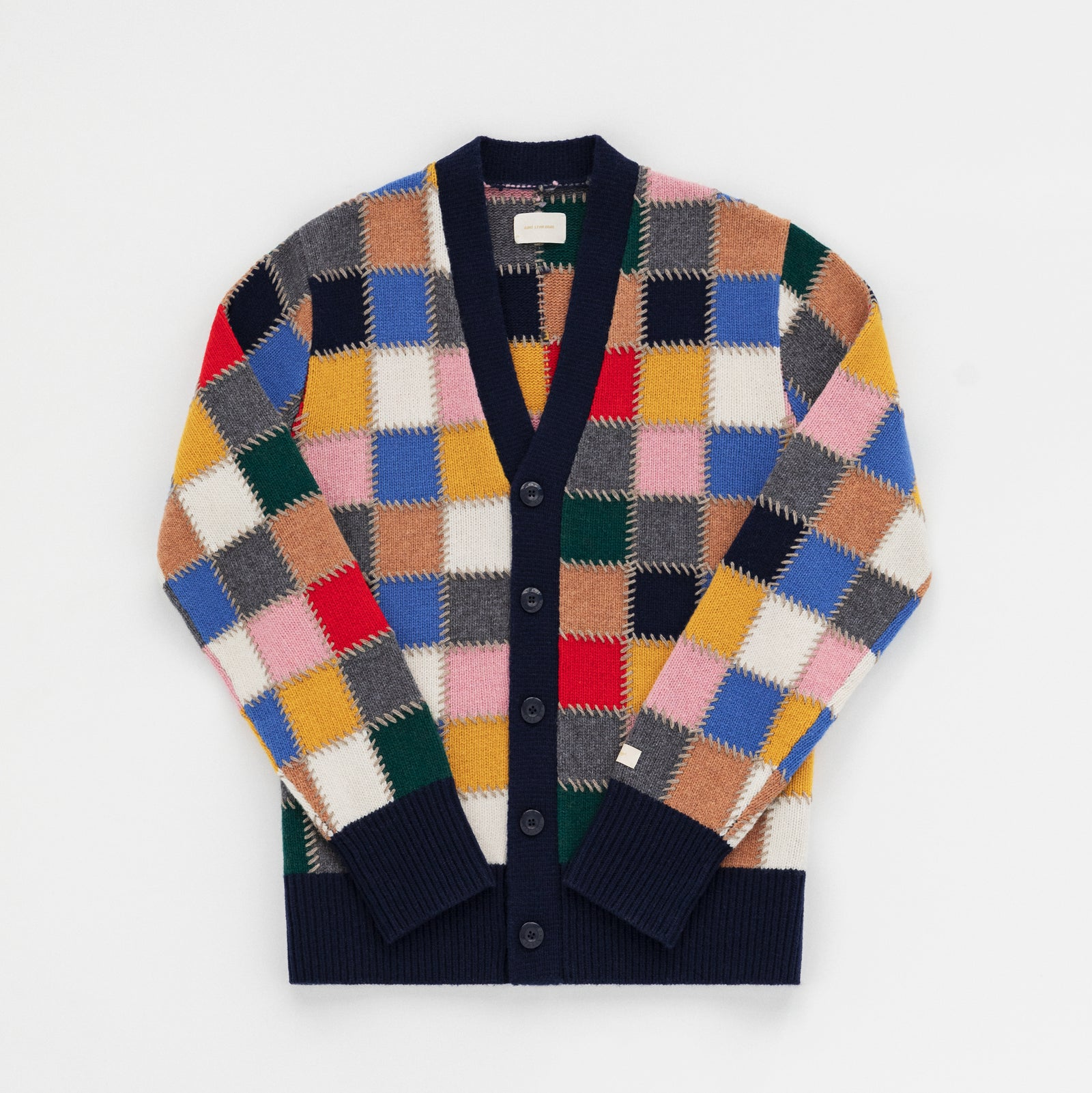 Quilted Patchwork Cardigan