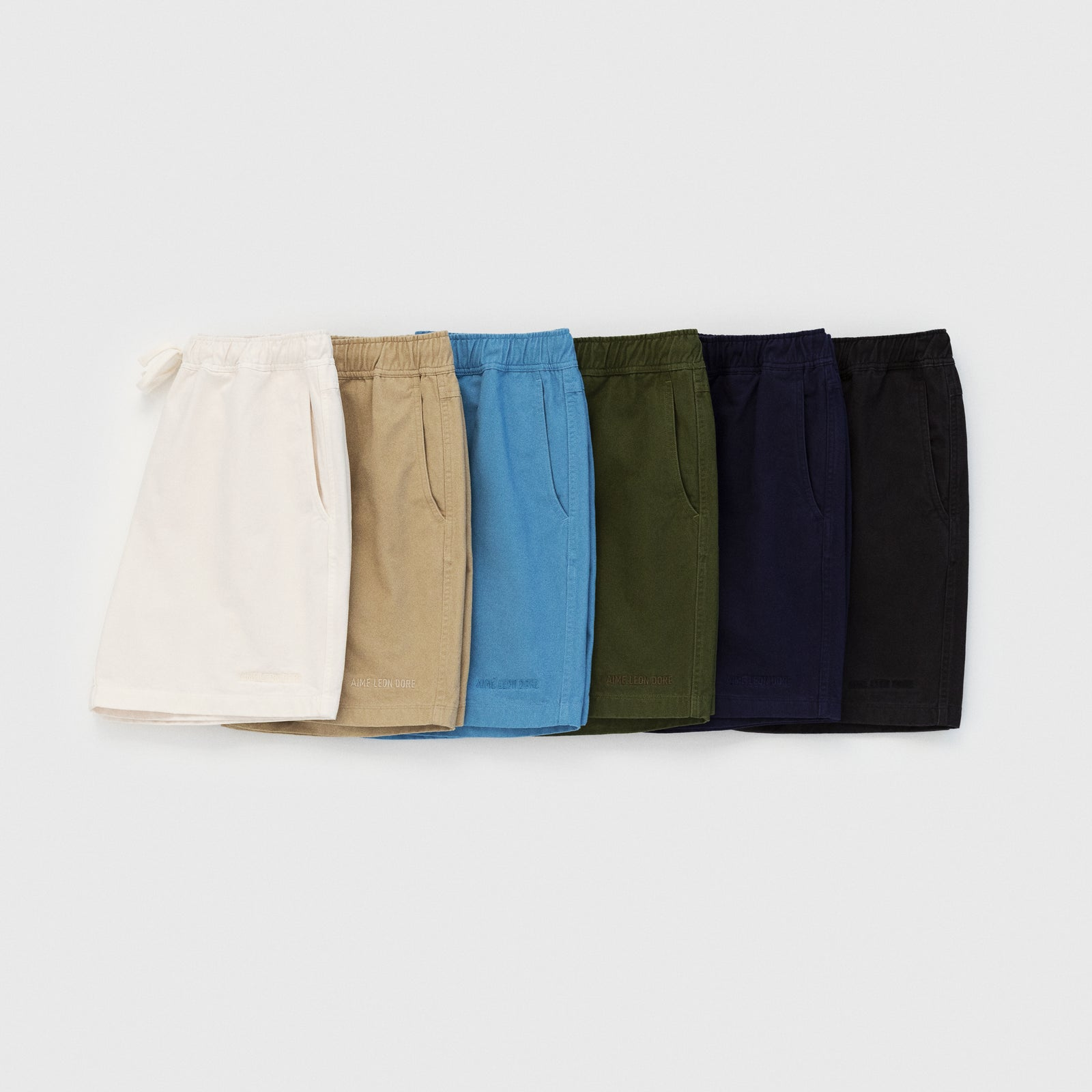 Drawstring Chino Short