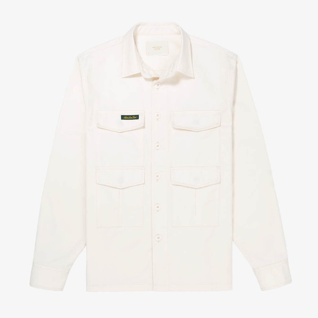 CHINO WORK SHIRT - CREAM - Woven Shirts Aimé Leon Dore