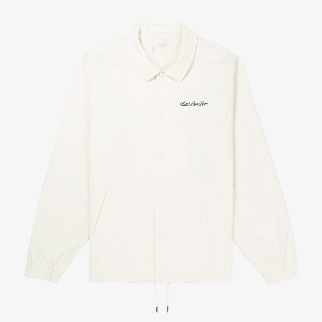 NYLON COACH JACKET - SAIL