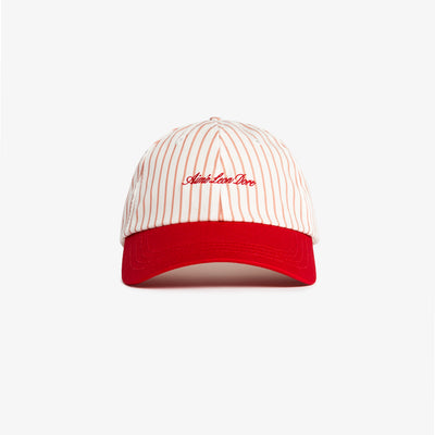 STRIPED 6 PANEL - RED