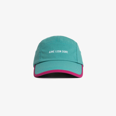 5 PANEL SPORTS CAP - TEAL