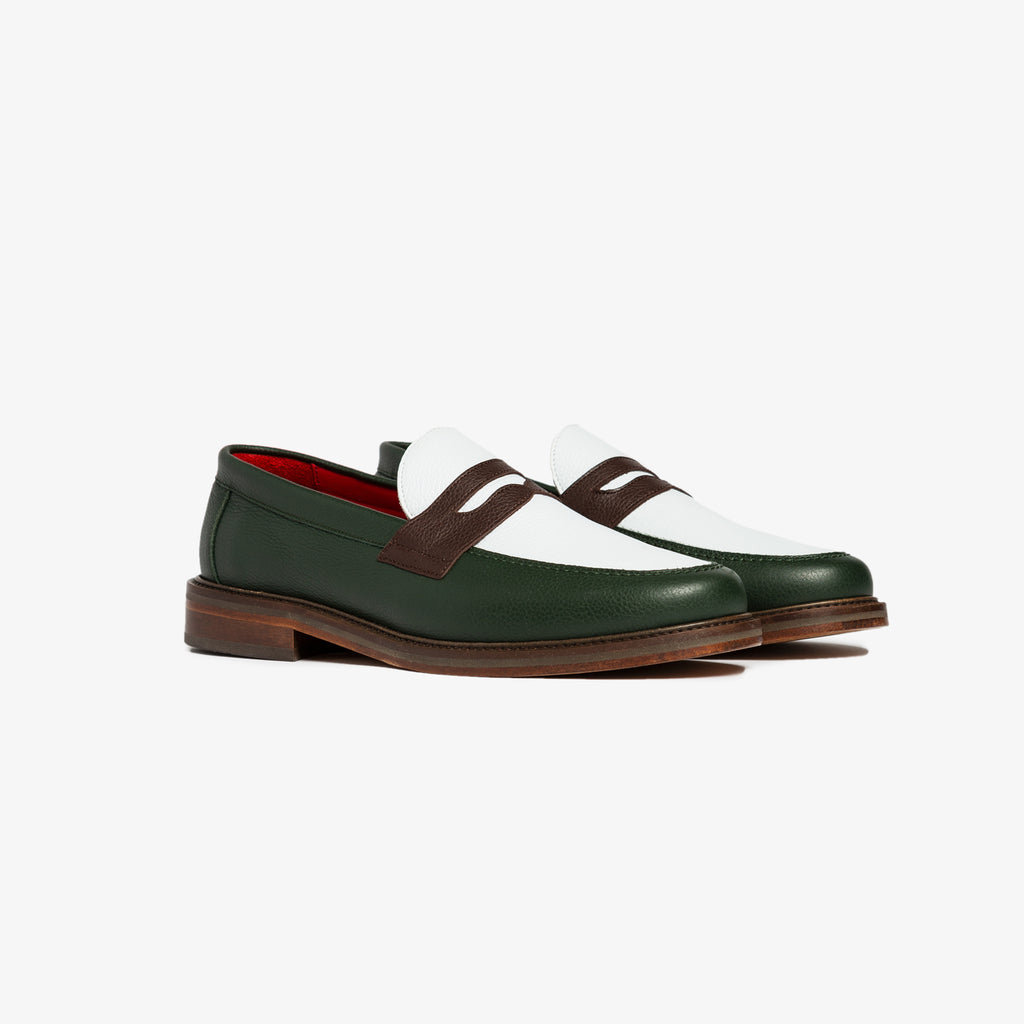 ALD PENNY LOAFERS - GREEN - Shoes Aimé Leon Dore