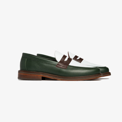 ALD PENNY LOAFER - GREEN
