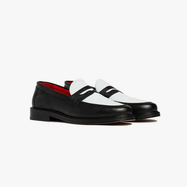 ALD PENNY LOAFERS - BLACK - Shoes Aimé Leon Dore