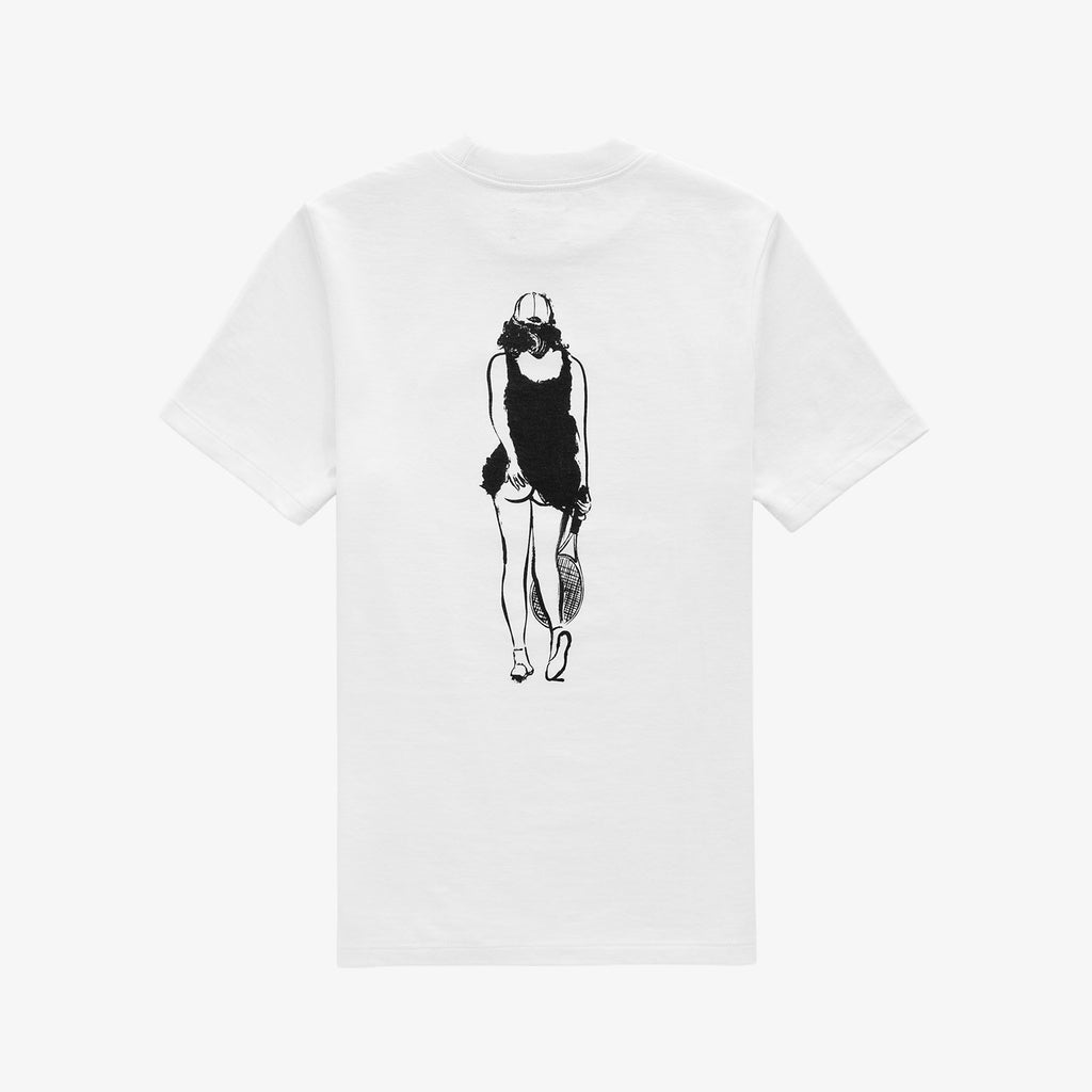 WOMENS TENNIS GRAPHIC TEE