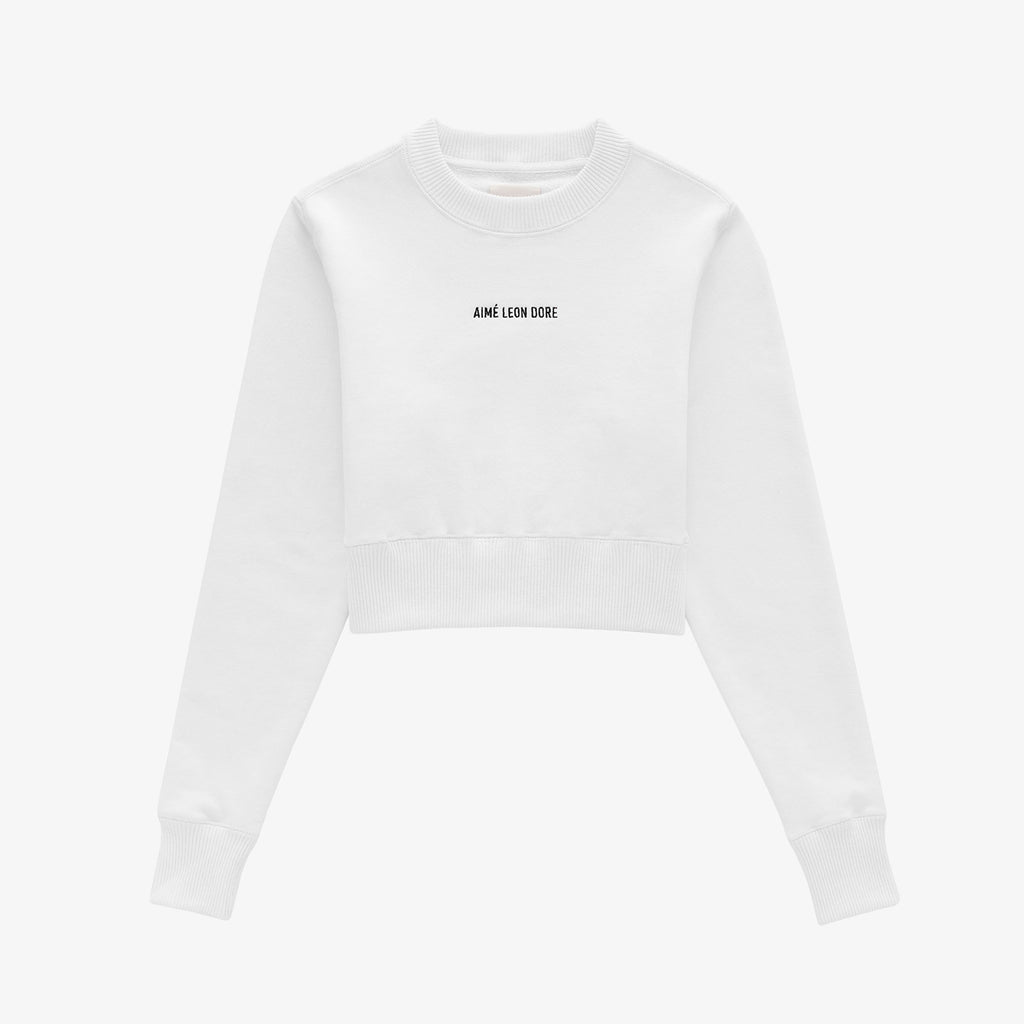 WOMENS CROP TOP CREWNECK