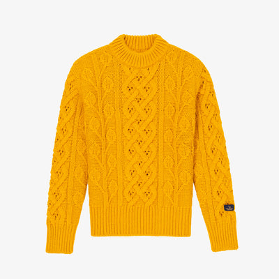 FISHERMAN KNIT SWEATER-YELLOW - Sweaters Aimé Leon Dore