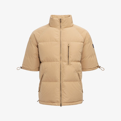 SS DOWN JACKET-CAMEL