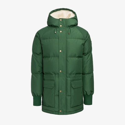 HOODED DOWN JACKET-GREEN - Outerwear Aimé Leon Dore