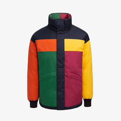 COLOR BLOCKED DOWN JACKET-MULTI - Outerwear Aimé Leon Dore