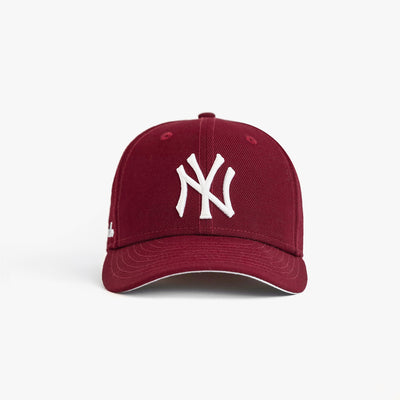 NEW ERA YANKEES HAT - MAROON