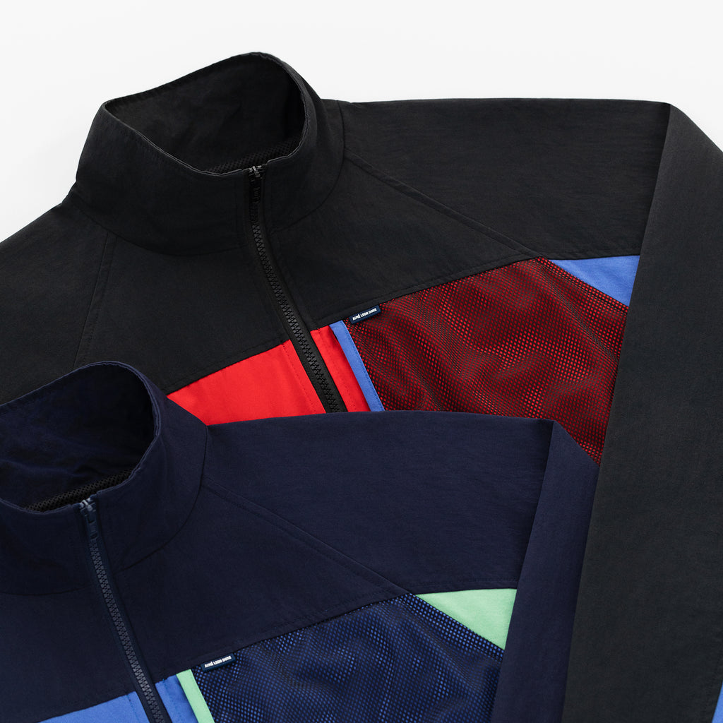 MIXED MEDIA WINDBREAKER