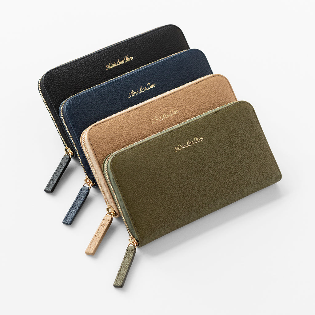 ALD LEATHER ZIP WALLET
