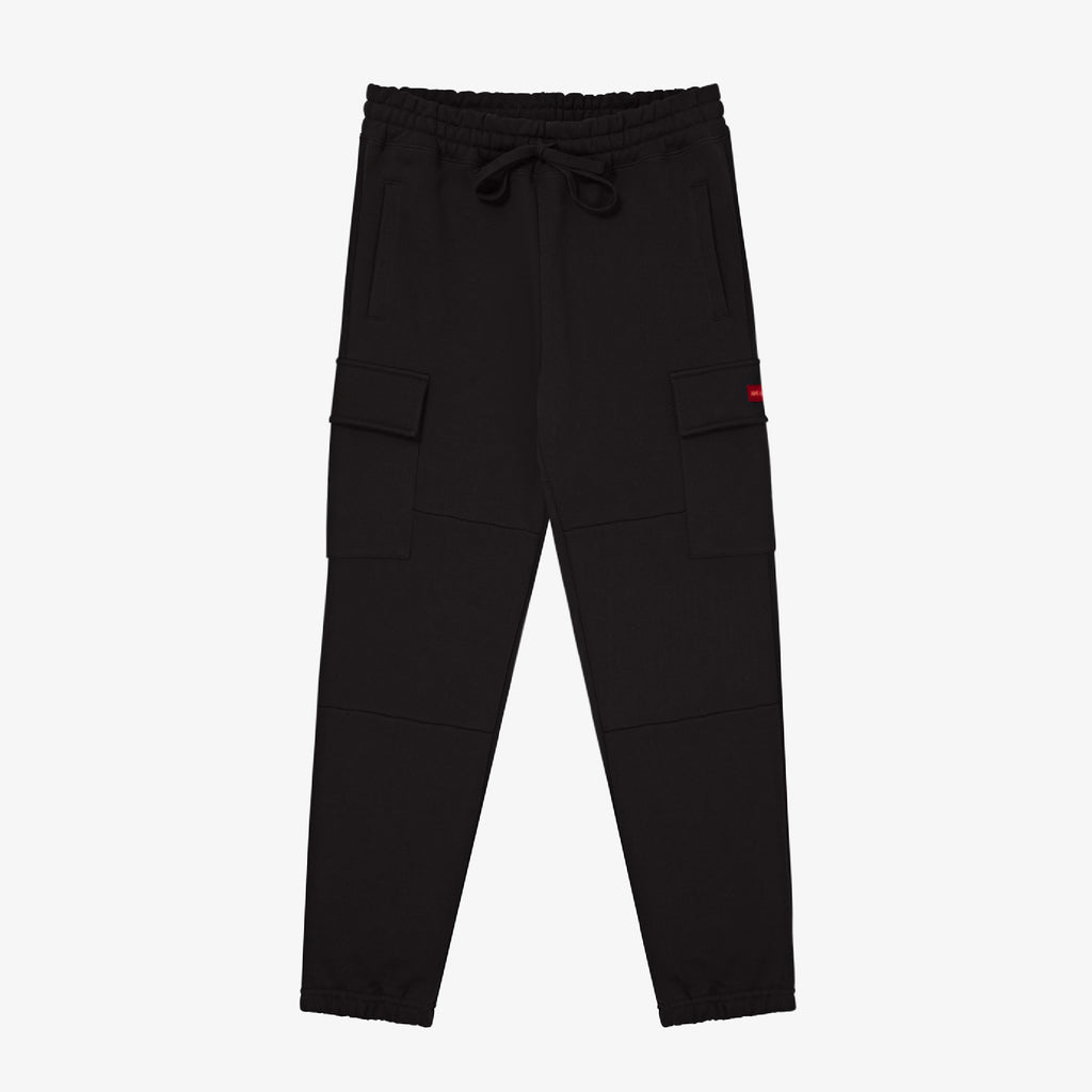 CARGO SWEAT PANT-BLACK - Sweatpants Aimé Leon Dore