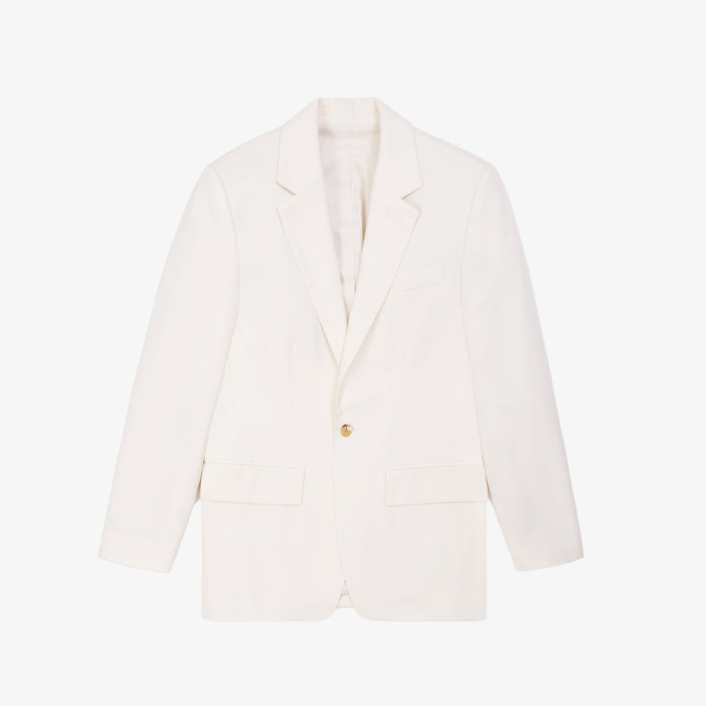 SINGLE BUTTON BLAZER-CREAM - Outerwear Aimé Leon Dore