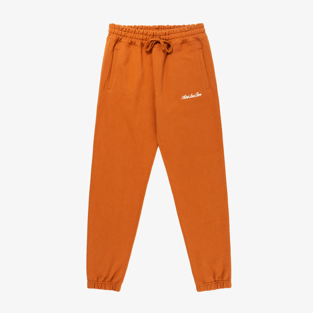 LOGO SWEATS - RUST