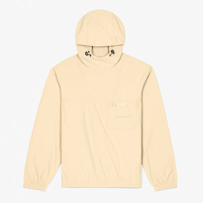 HOODED ANORAK JACKET - CREAM - Outerwear Aimé Leon Dore