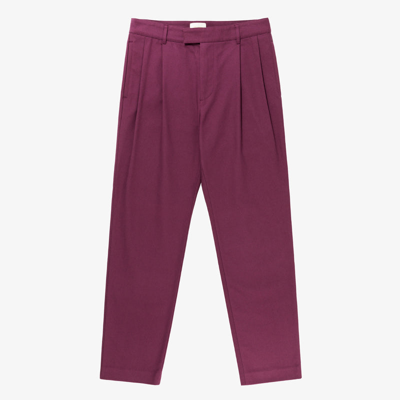 Pleated Cavalry Trouser