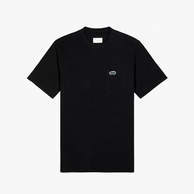 SS POCKET TEE - BLACK