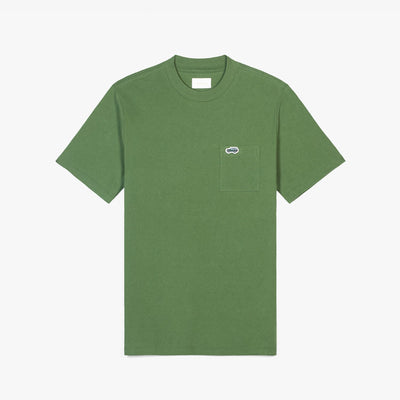 SS POCKET TEE - GREEN