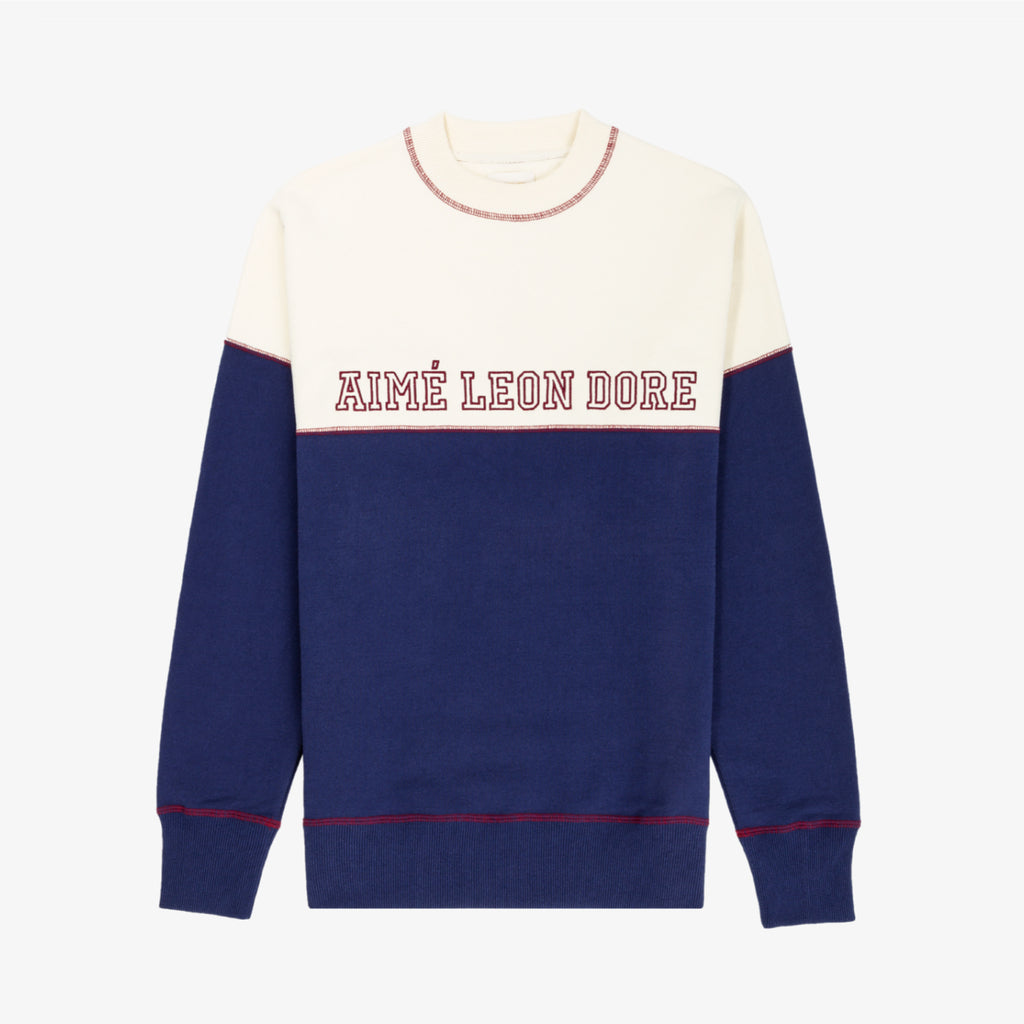 CROSS STITCH CREWNECK - Sweatshirt Aimé Leon Dore