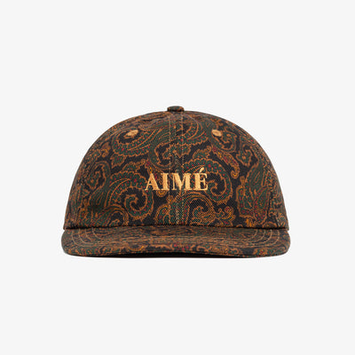 PAISLEY DENIM HAT - NAVY - Hats Aimé Leon Dore