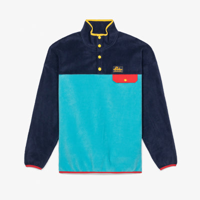 POLAR FLEECE PULLOVER - NAVY