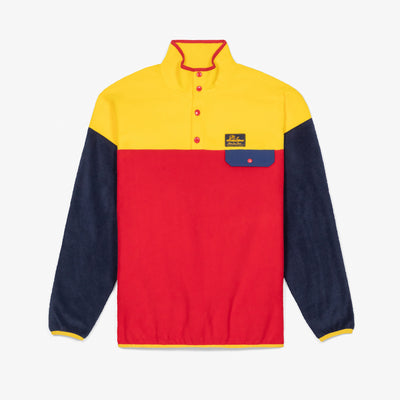 POLAR FLEECE PULLOVER - YELLOW