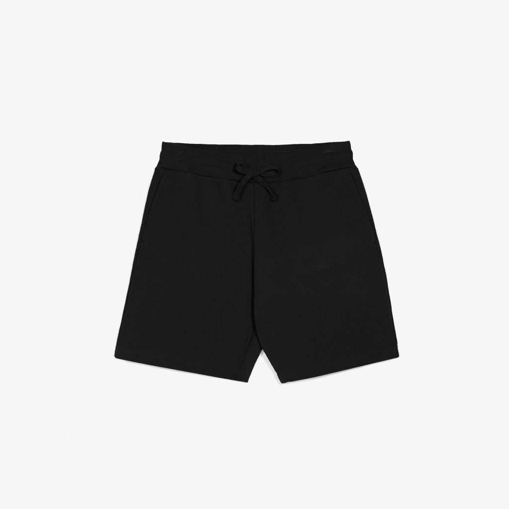 FRENCH TERRY SHORTS - BLACK - Sweat shorts Aimé Leon Dore