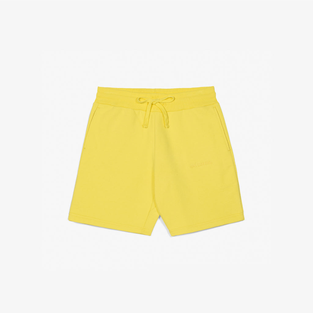 FRENCH TERRY SHORTS - YELLOW - Sweat shorts Aimé Leon Dore