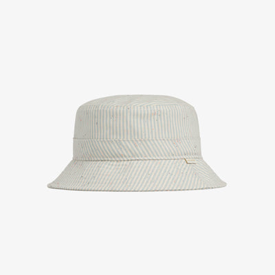COTTON POPLIN BUCKET HAT