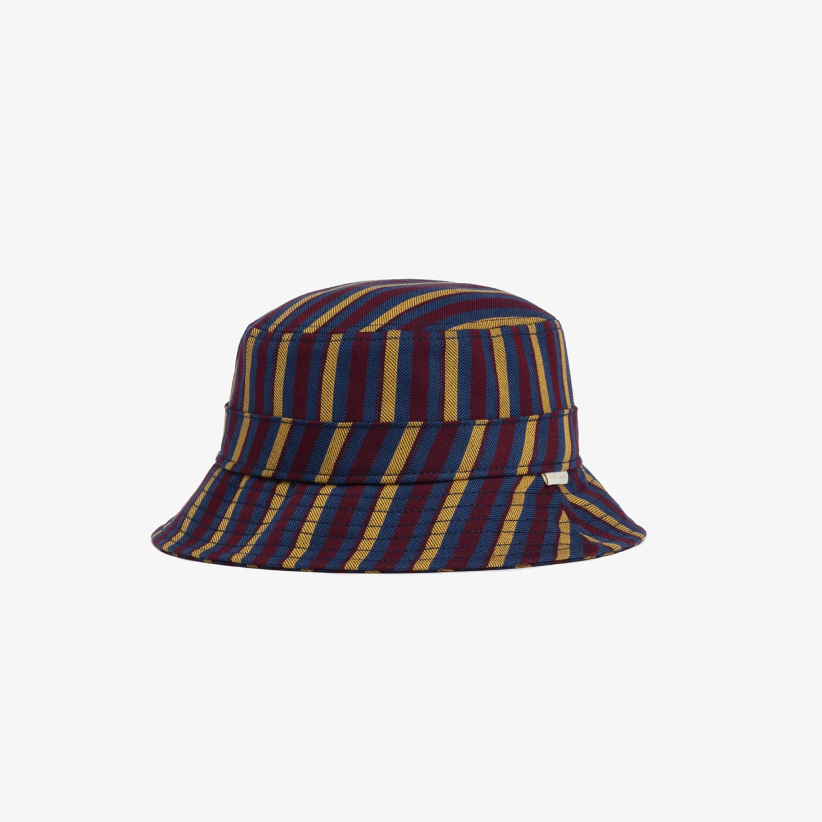 Striped Cotton Bucket Hat