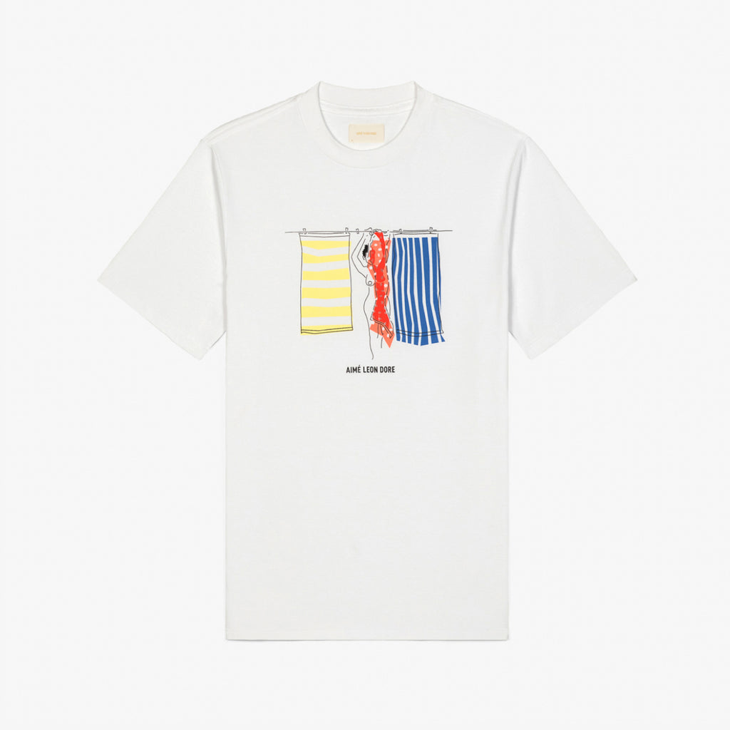SPRING 19 GRAPHIC TEE - WHITE