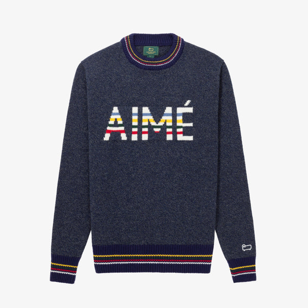 HUDSON BAY SWEATER - NAVY