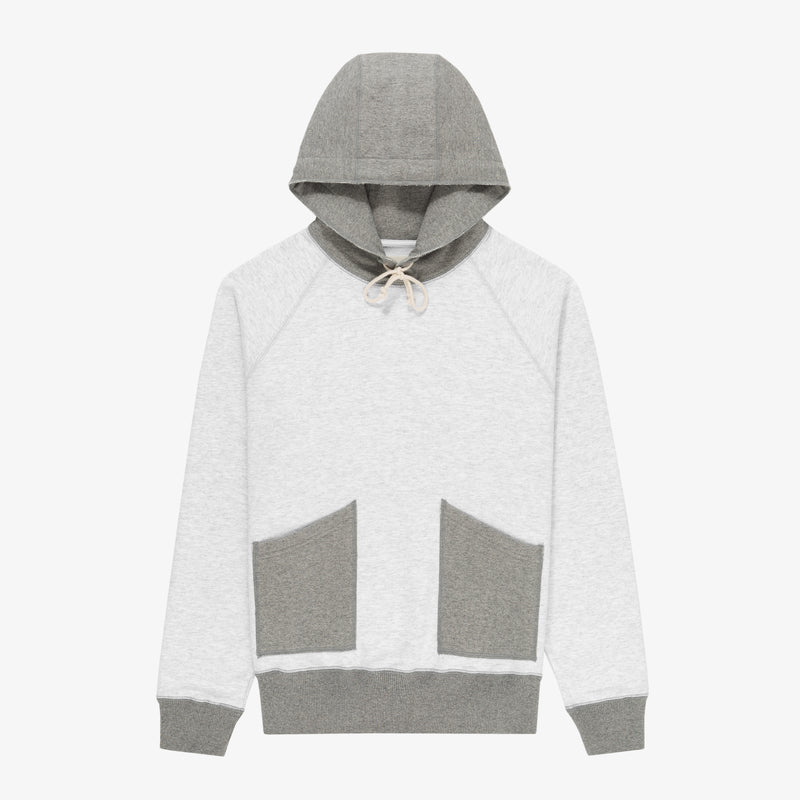 Two-tone Patch Pocket Hoodie