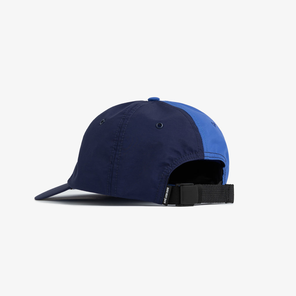 COLOR-BLOCKED NYLON SPORT HAT