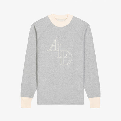 MONOGRAM CREWNECK - GREY