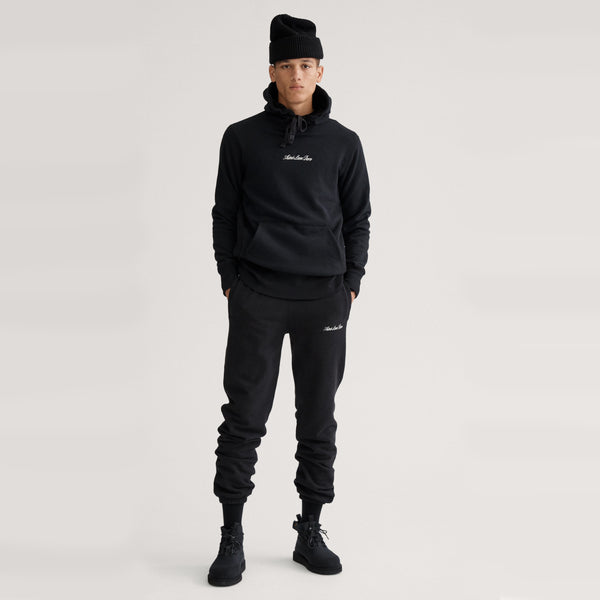 LOGO SWEATS - BLACK