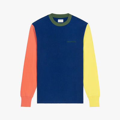 LS COLOR BLOCKED LOGO TEE - MIDNIGHT
