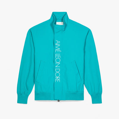 NYLON SAILING JACKET - TEAL