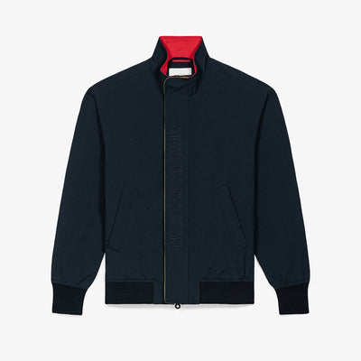 NYLON SAILING JACKET - BLACK