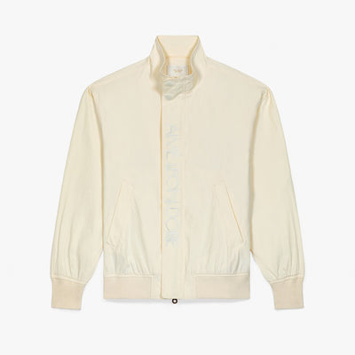 NYLON SAILING JACKET - CREAM