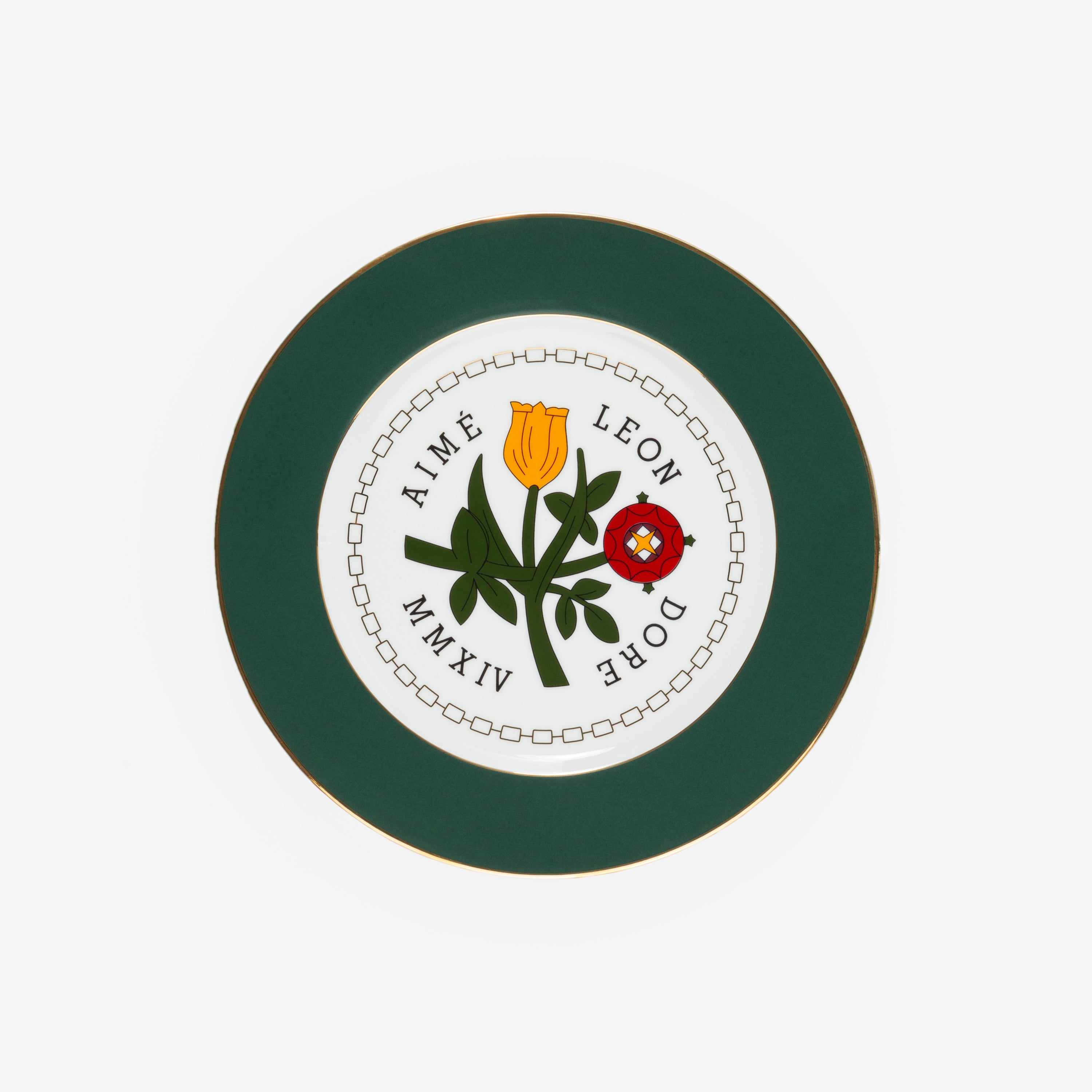 Queens Crest Decorative Plate
