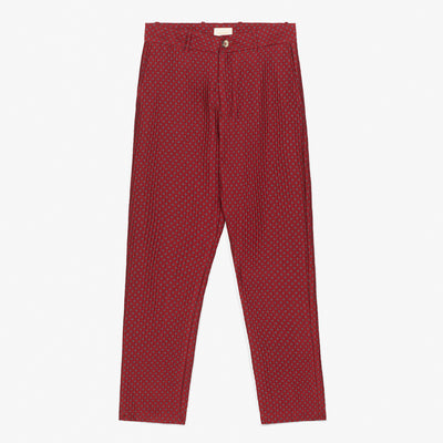 POLKA DOT TROUSER - RED