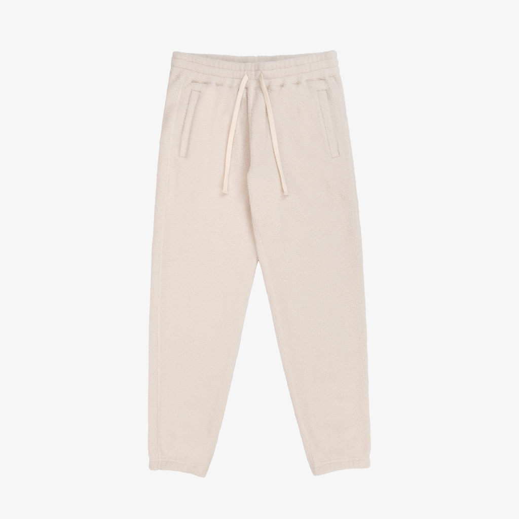 Deep Pile Camper Pant - Cream - Bottoms Aimé Leon Dore